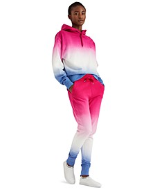 Dip-Dyed Jogger Pants