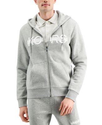 Men's Regular-Fit Logo Embroidered Fleece Hoodie, Created for Macy's