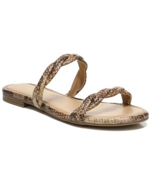Cybil Braided Flat Sandals Women's Shoes
