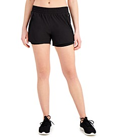 Layered Running Shorts, Created for Macy's