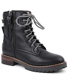Women's Wooley Combat Booties