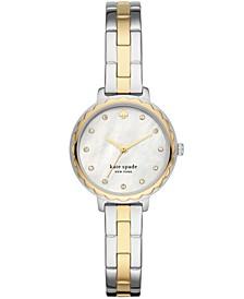Morningside Two-Tone Stainless Steel Bracelet Watch 28mm
