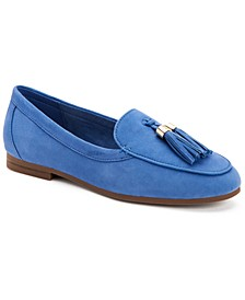 Margott Suede Tassel Loafers, Created for Macy's
