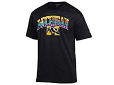 Michigan Wolverines Men's Neon Vault Arch & Logo T-Shirt