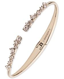 Crystal Stone Cuff Bracelet