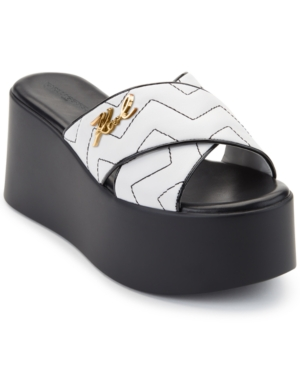 Karl Lagerfeld RAMONA PLATFORM SANDALS WOMEN'S SHOES