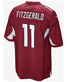 Nike Kids' Arizona Cardinals Larry Fitzgerald Jersey, Big Boys (8-20)