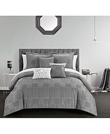 Jodie 6 Piece Comforter Set, Queen