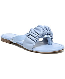 Women's Cyra Ruffled Slide Sandals