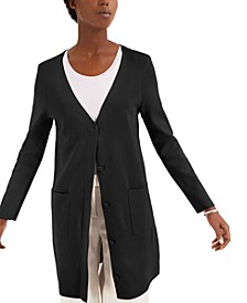 Open-Front Long Cardigan, Created for Macy's