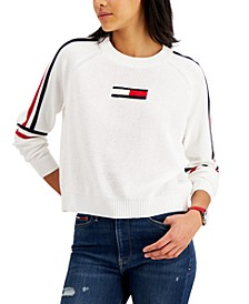 Flag Patch Sweater