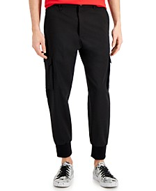Hugo Boss Mens Glavin Slim-Fit Cuffed Cargo Pants