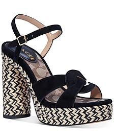 Women's Talina Platform Espadrille Dress Sandals