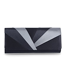 Satin Matinee Flap Clutch, Created for Macy's