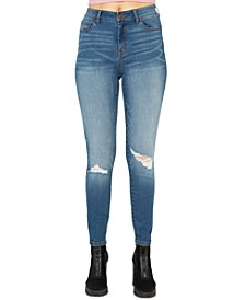 Juniors' Stevie High-Rise Skinny Jeans