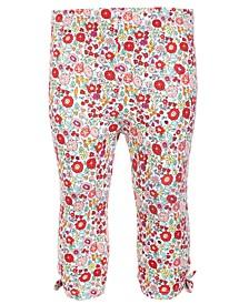 Baby Girls Garden Floral Capri Leggings, Created for Macy's