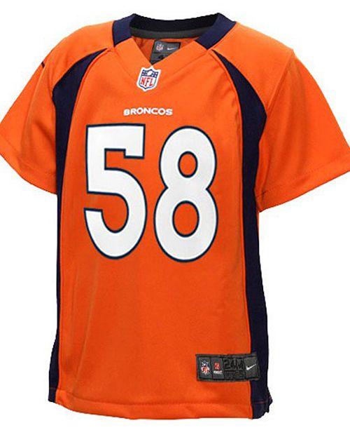 detailed pictures 4a9d7 4252c Toddlers' Von Miller Denver Broncos Jersey
