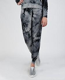 Women's Cozy Tie-Dye Pocket Joggers