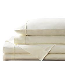400 Thread Count Ultra-Fine Cotton Sateen Sheet Set, California King