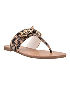 Women's Lessan Slip-On Thong Flat Sandals