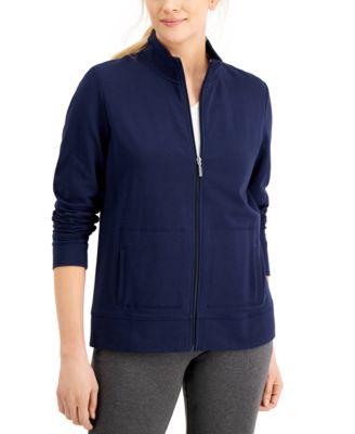 Mock-Neck Jacket, Created for Macy's