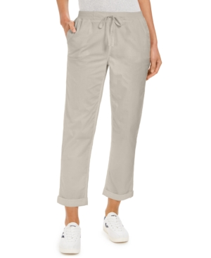 Style & Co PETITE UTILITY PANTS, CREATED FOR MACY'S