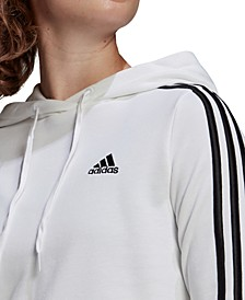 Women's Essentials Cropped Hooded Sweatshirt