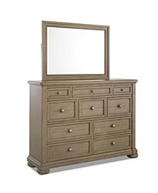 Nashville Grey Dresser Mirror