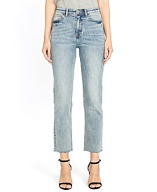 Jayden High-Rise Straight Jeans