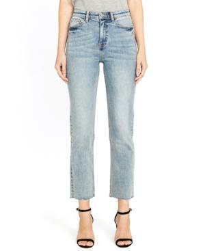 Jayden High-Rise Straight Jeans