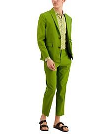 Men's Slim-Fit Stretch Linen Blend Suit Jacket, Created for Macy's