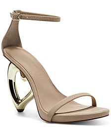 Aminah Abdul Jillil for INC Zitlaly Heart Sandals, Created for Macy's