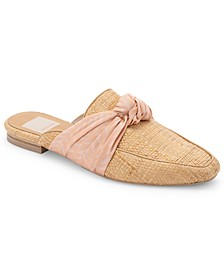 Hylda Knotted Slip-On Mule Flats