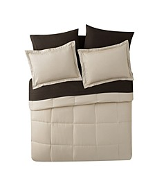 Lincoln Down Alternative Bed-in-a-Bag Comforter Set Collection