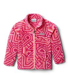 Toddler Girls Benton Springs II Printed Fleece Jacket