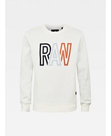 Men's Raw Long Sleeve Sweater