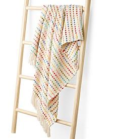 "Love Wins Dotted Stripe 50"" x 60"" Throw Blanket"