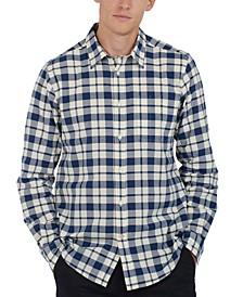 Men's Sealton Tailored-Fit Check Oxford Shirt