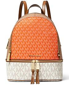 Signature Rhea Zip Backpack