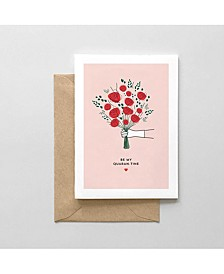 Be My Quaran-Tine Greeting Card