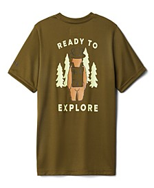 Big Boys and Girls Grizzly Grove Short Sleeve Graphic T-shirt