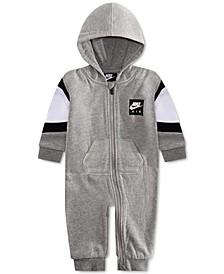 Baby Boys Air Fleece Hooded Coverall