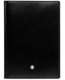 Montblanc Men's Black Leather Meisterstück Passport Holder 35285