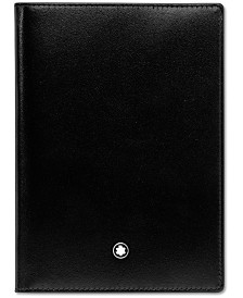 Montblanc Men's Black Leather Meisterstück Passport Holder 35285