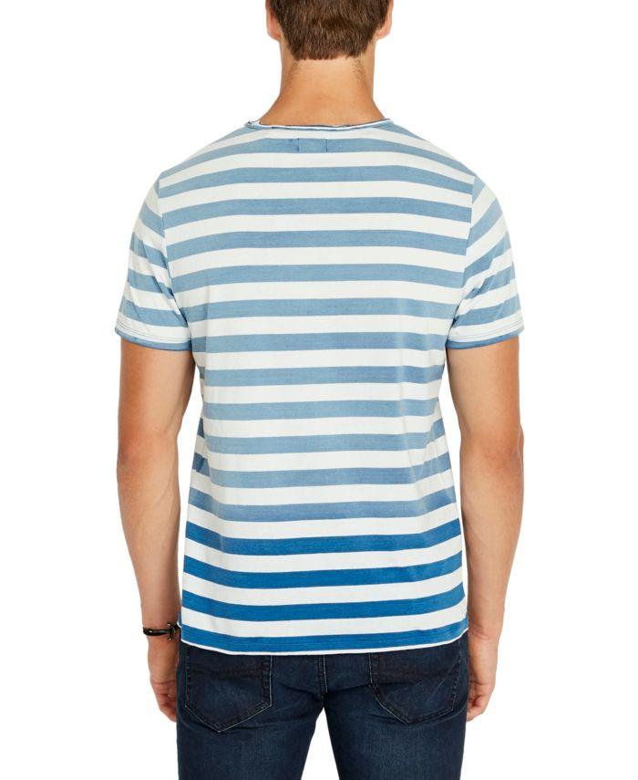 Buffalo David Bitton Men's Kabulk Striped T-shirt & Reviews - Casual Button-Down Shirts - Men - Macy's
