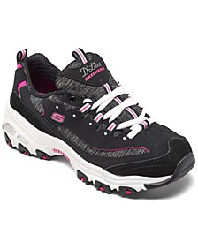 Women's D'Lites - Me Time Wide Width Walking Sneakers from Finish Line