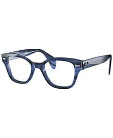 RX0880 Unisex Square Eyeglasses