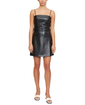 Belted Fit & Flare Mini Dress