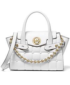 Carmen Quilted Flap Messenger Bag