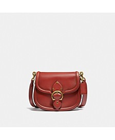 Glovetanned Leather Beat Saddle Bag